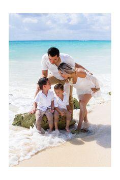 Sesiones familiares. Cancún. Riviera Maya.