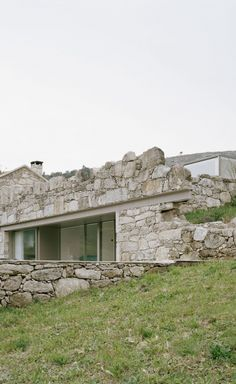 House in Melgaço: A House in Ruins Victor Gonzalez, Steep Rock, Experimental Photography, Commercial Photography, Architect Design, Deconstruction, Minimalism, Greece, Villa