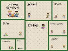 To go inside dollar store frames to post Learning Objectives. FREEBIE