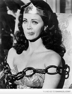 Linda Carter as Wonder Woman