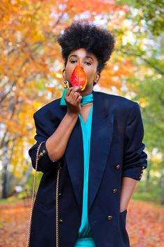 Autumn leaves: and how to achieve the perfect blazer fold. Autumn Leaves, Blazers, Style, Fall Leaves, Blazer, Sports Jacket, Stylus