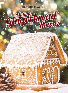 Gingerbread houses are the architectural wonder of the baking world with constructions of all shapes and sizes popping up everywhere. This charming book is a must for cake decorators, craftspeople and