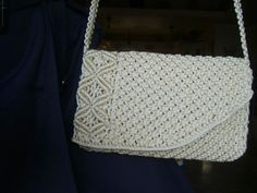 A bag in macramé which I have realizes