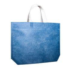 Denim look Non Woven Carrier Bag