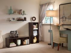 Accessorize your living room with ClosetMaid Decorative Storage.