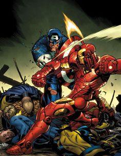 Captain-America-versus-Iron-Man-in-Marvel-Civil-War.jpeg (560×726)