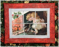 Window-The Wonder of Christmas  by Fred  $30  bfc-creations.com