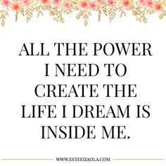 Law of Attraction: Affirmations to Manifest Your Dream Life Daily Affirmations for Women List Of Affirmations, Law Of Attraction Affirmations, Law Of Attraction Quotes, Positive Affirmations, Wealth Affirmations, Mantra, Motivacional Quotes, Smart Quotes, Friend Quotes