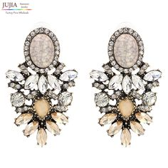 Wholesale good quality big crystal earring 2017 New statement fashion stud Earrings for women     Tag a friend who would love this!     FREE Shipping Worldwide     Buy one here---> https://worldoffashionandbeauty.com/wholesale-good-quality-big-crystal-earring-2017-new-statement-fashion-stud-earrings-for-women/