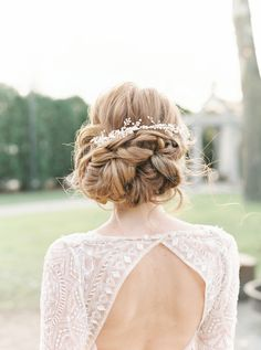 18 Beautiful Bridal Updos You Need to Consider! | weddingsonline