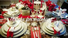 {DIY} HOLIDAY | CHRISTMAS TABLE SCAPE |tafeltje dek je met kerst