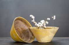 Vintage Willy Guhl Eternit Planters : Factory 20
