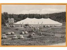 Svinesund. Tältvaruhuset 1950-talet