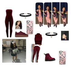 """""""Untitled #121"""" by parrissss on Polyvore featuring beauty, J. Adams, Dr. Martens, maurices, WearAll, Betsey Johnson and Casetify"""