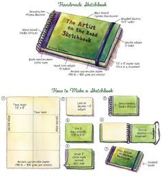 Urban Sketchers: How to Make Your Very Own Sketchbook