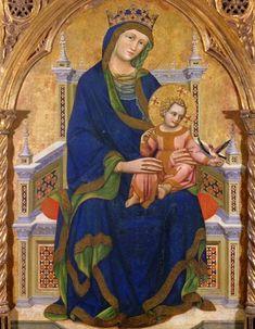 Guariento d'Arpo - Madonna and Child
