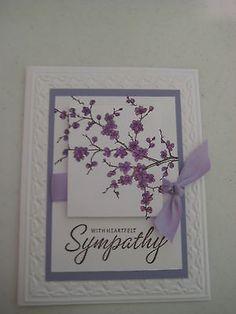 Stampin Up Sympathy Card Kits with Envelopes | eBay