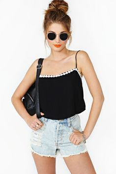 Daisy Chain Crop Tank - Nasty Gal Fashion