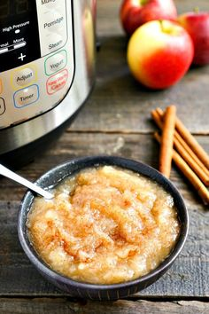 This Instant Pot Applesauce is perfect for apple picking season! It's a quick, easy, healthy fall recipe that everyone loves. Recipe from @realfoodrecipes realfoodrealdeals.com