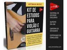 KIT DE ESTUDOS PARA VIOLÃO E GUITARRA - Via Download