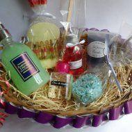 TENDÊNCIA AROMÁTICA - Caixa de MDF com Sabonete Provence