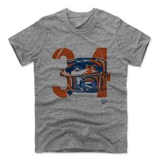 Walter Payton Number OB Chicago Officially Licensed Unisex T-Shirt S-2XL