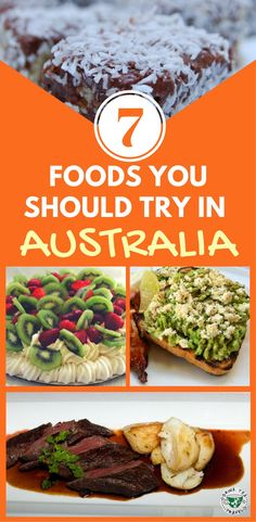 Planning a trip to Australia? Don't leave without trying some delicious Australian food. Here are 7 popular dishes to try in Australia, including deserts, main meals like kangaroo meet and snacks.