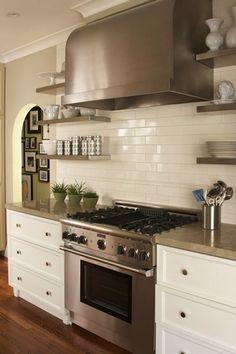 Off White, Beveled Subway Tile In San Carlos, CA | Kitchen Redo | Pinterest  | San Carlos, Fliesen Und Metro Fliesen Design