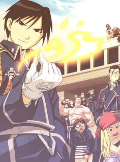 Roy Mustang, The Flame Alchemist!