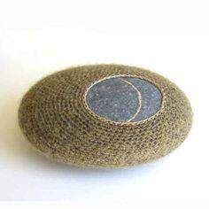 s-c-r-a-p-b-o-o-k:  Susanna Bauer - Morning Dew, pebble, silk-mohair, cotton yarn.