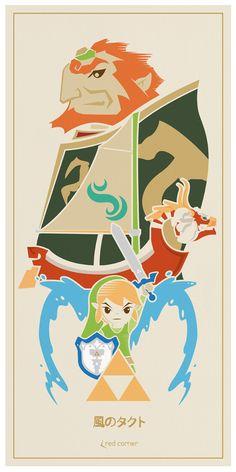 The Legend of Zelda: Wind Waker /// by Stuart Harris
