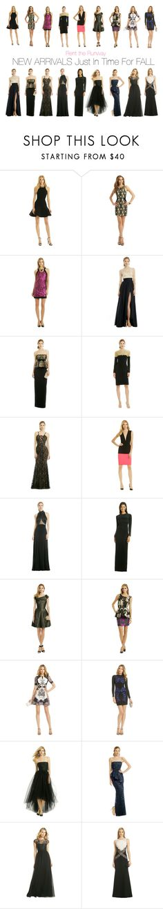 """New Arrivals Just In Time For Fall"" by renttherunway ❤ liked on Polyvore featuring David Koma, Moschino Cheap & Chic, Catherine Deane, Raoul, Reem Acra, Vera Wang, Cédric Charlier, Plein Sud, Calvin Klein Collection and Vivienne Westwood Anglomania"