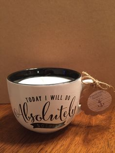 A personal favorite from my Etsy shop https://www.etsy.com/listing/471693558/soy-candle-in-a-mug