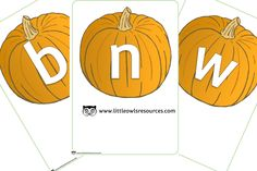 FREE Pumpkin Alphabet Early Years (EYFS) Printable Resource — Little Owls Resources - FREE Nursery Practitioner, Alphabet Display, Early Years Teacher, High Frequency Words, Letter Sounds, Eyfs, Nursery Rhymes, Phonics, Learning Activities