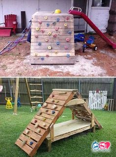 It's time to embrace the warmer weather by tackling a couple of outdoor DIY home … Browse our collection of ideas for easy outdoor projects that are perfect for a … Design Idea . Read DIY Outdoor Projects-DIY Ideas to do when bored Pallet Kids, Outdoor Pallet Projects, Pallet Ideas Easy, Pallet Crafts, Backyard Projects, Diy Pallet Furniture, Diy Furniture Projects, Diy Wood Projects, Projects For Kids