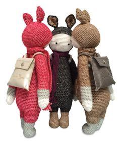 KIRA the kangaroo mae by KarinM / crochet pattern by lalylala