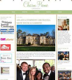 Atlanta Symphony Orchestra Decorators Show House & Gardens | Charmhomeblog.com, March 2013