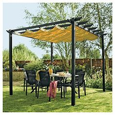 Retractable canopy tesco direct £378