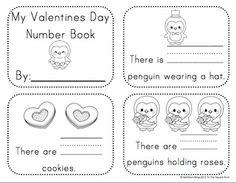 Kindergarten Valentine's Day Math Activities and Centers C