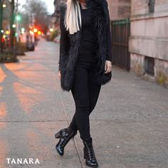 All Black porque SIM. #tanarabrasil #instafashion #lookdodia