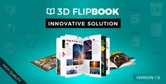 Interactive 3D FlipBook with Physics-Based Animation jQuery Plugin - Price $18