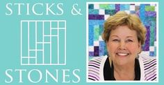 The Sticks and Stones Quilt: Easy Quilting Tutorial with Jenny Doan of Missouri Star Quilt Co (Missouri Star Quilt Company - YouTube) | Quilting Tutorials, The…
