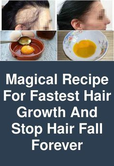 Magical Recipe For Fastest Hair Growth And Stop Hair Fall Forever