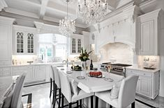 How To Design A Traditional Kitchen With White Kitchen Cabinets White Kitchens Cabinets Design Kitchen traditional white Traditional Kitchen Cabinets, Stock Kitchen Cabinets, Traditional Kitchens, Interior Design Career, Home Design, Home Decor Styles, Cheap Home Decor, Kitchen Utensils Store, All White Kitchen