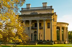 Vanderbilt Home- Hudson River Valley.  Leave it to the Vanderbilts to have the absolute most beautiful homes!   Such class!