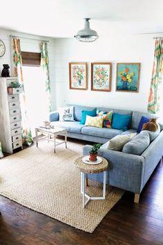 Zimmer einrichten mit Ikea - Wohnzimmer Ideen