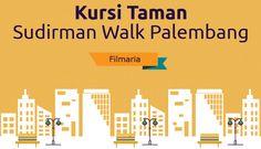 Kursi Taman Sudirman Walk Palembang