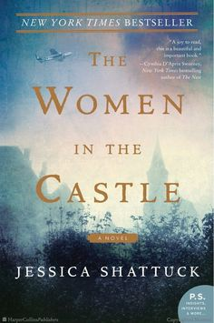 Searching for book club book ideas? Check out this list of historical fiction novels, including The Women in the Castle by Jessica Shattuck. I Love Books, New Books, Good Books, Books To Read, Library Books, Open Library, Reading Lists, Book Lists, Happy Reading