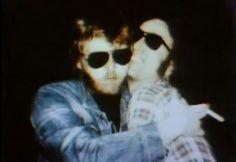 Harry Nilsson and John lennon