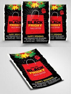 Postcard Design, Off Black, Black Friday